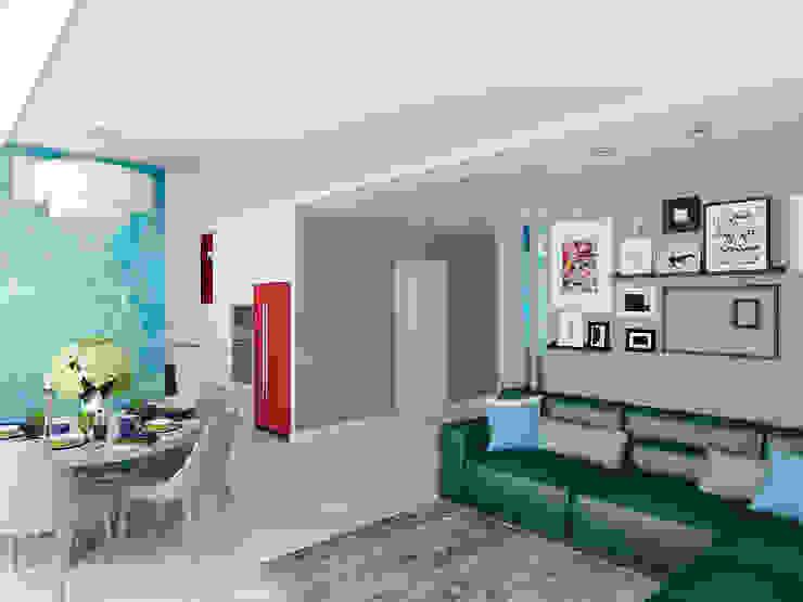 ЖК Столичный – гостиная Гостиная в классическом стиле от Мастерская дизайна Онищенко Марии Классический