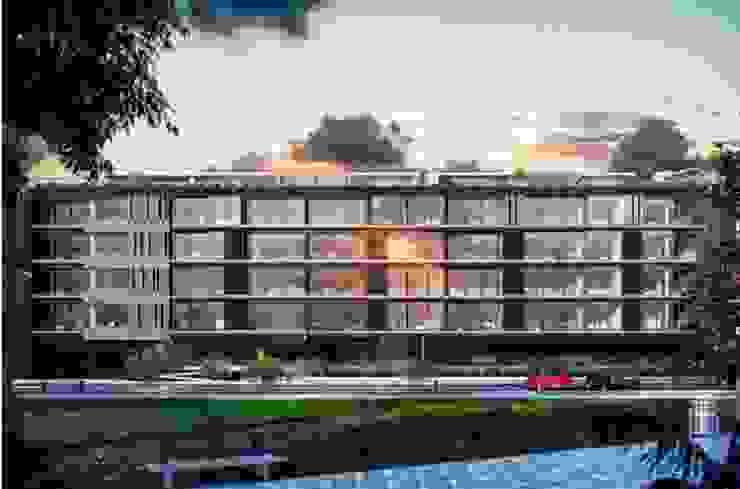 Case moderne di Coestructural sas Moderno Cemento armato