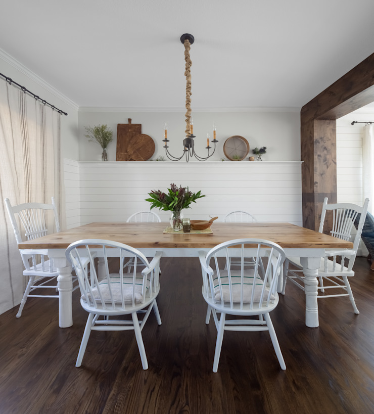 Dining Room Rustic style dining room by Laura Medicus Interiors Rustic