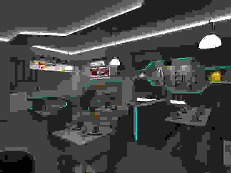 Cafe Remaja Jl. Ayani Pontianak Gastronomi Minimalis Oleh Dadudesign Minimalis Kayu Lapis