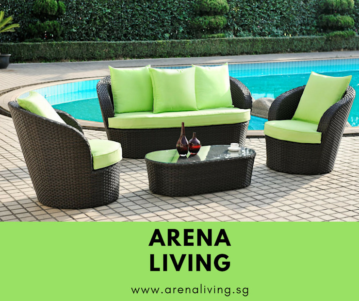 Garden Furniture: classic  by Arena Living,Classic Wood Wood effect