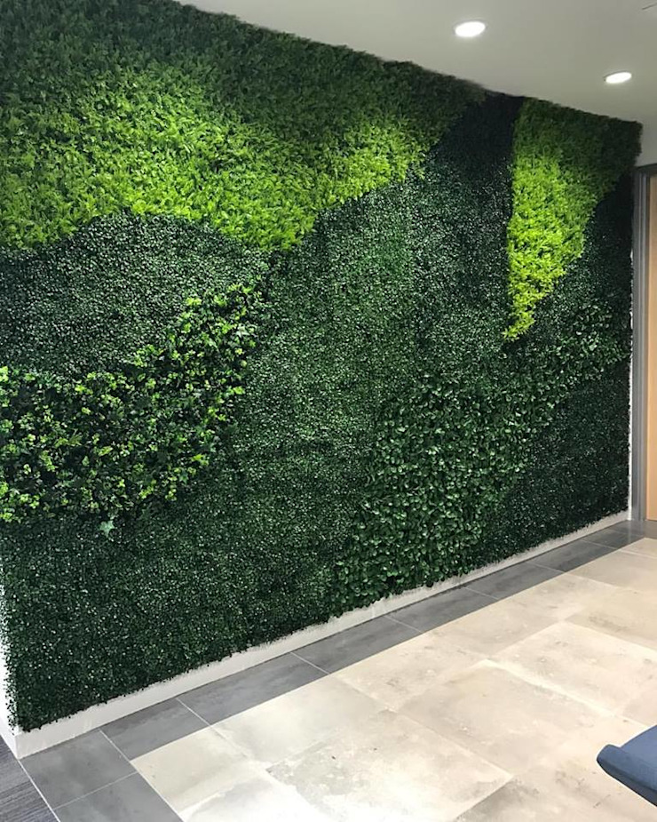 Artificial Plants Wall For Interior Wall Landscape by Sunwing Industrial Co., Ltd. Country Plastic