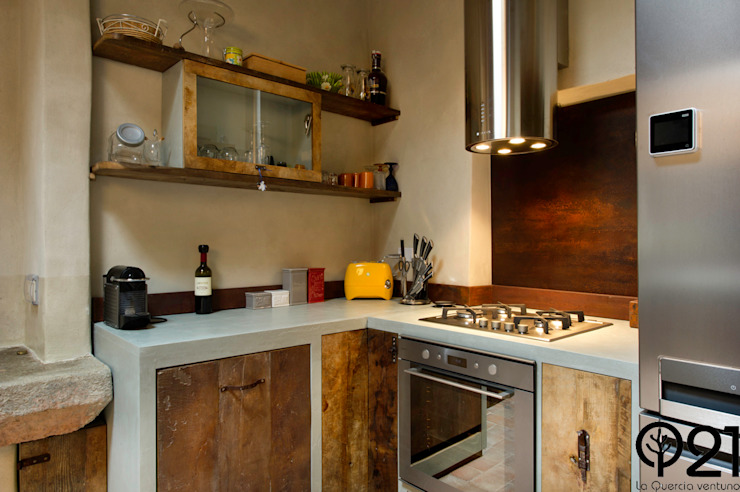 Industrial style kitchen by Laquercia21 Industrial