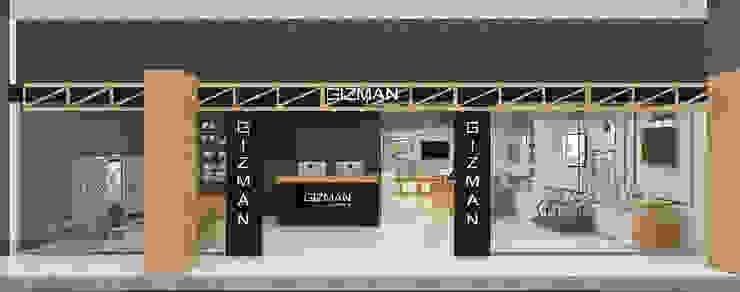workshop Gizman โดย บริษัท ทีซี อินเทอโน่ 456 จำกัด ผสมผสาน ไม้ Wood effect