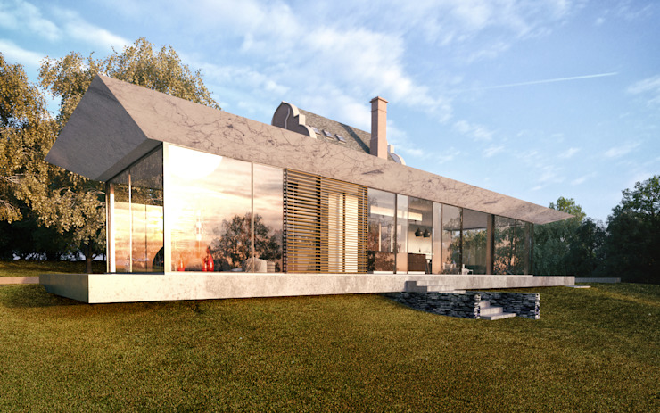 Glazed Extension for Dutch Gabled Property. HollandGreen Country house