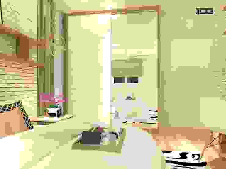 Project. Nirvana กัลปพฤกษ์-สาทร โดย IDG interior decoration studio Co.,Ltd.