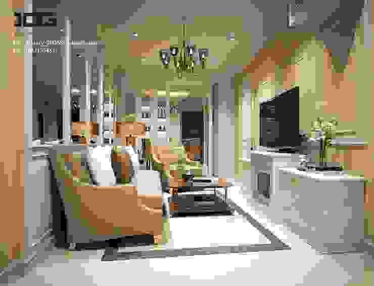 Project. Suparai orima riva rama3 โดย IDG interior decoration studio Co.,Ltd.