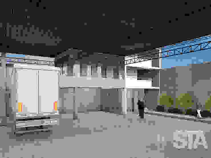 Industriale Ladenflächen von Soluciones Técnicas y de Arquitectura Industrial