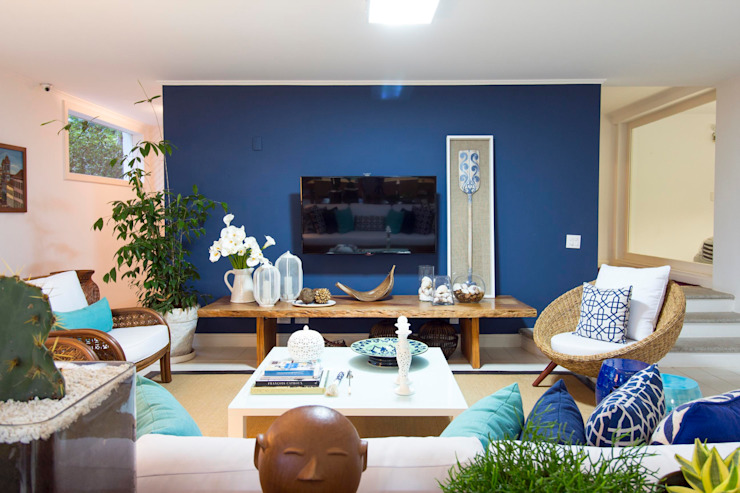 van IZI HOME Interiores Tropisch