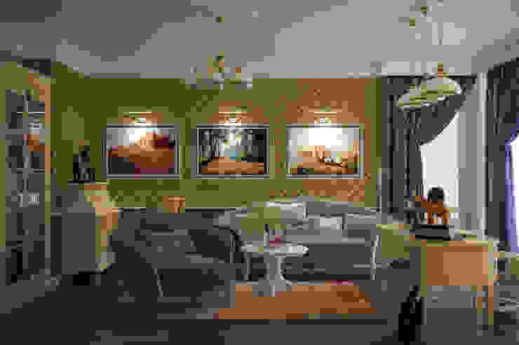 Klasik Çalışma Odası Студия интерьерного дизайна happy.design Klasik