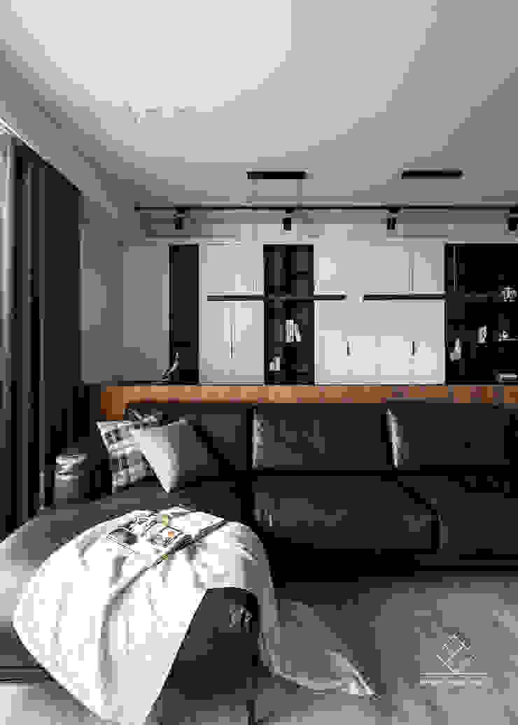 客廳 现代客厅設計點子、靈感 & 圖片 根據 極簡室內設計 Simple Design Studio 現代風