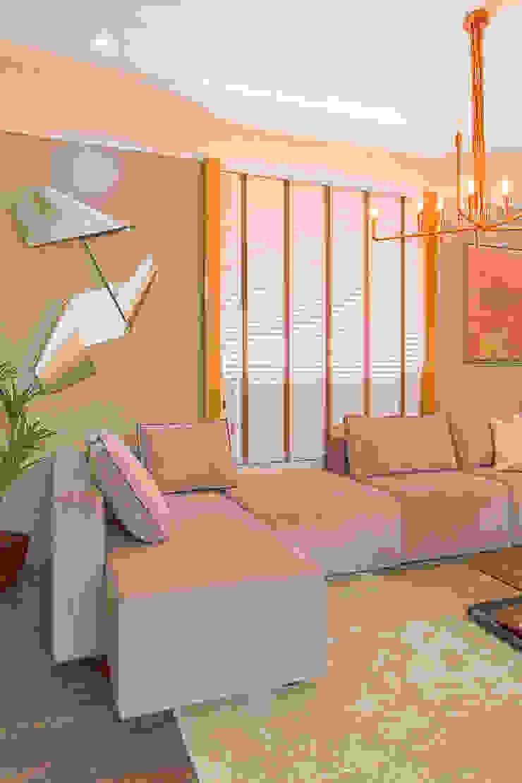 Hall de Entrada Espaços comerciais modernos por Sgabello Interiores Moderno Cobre/Bronze/Latão