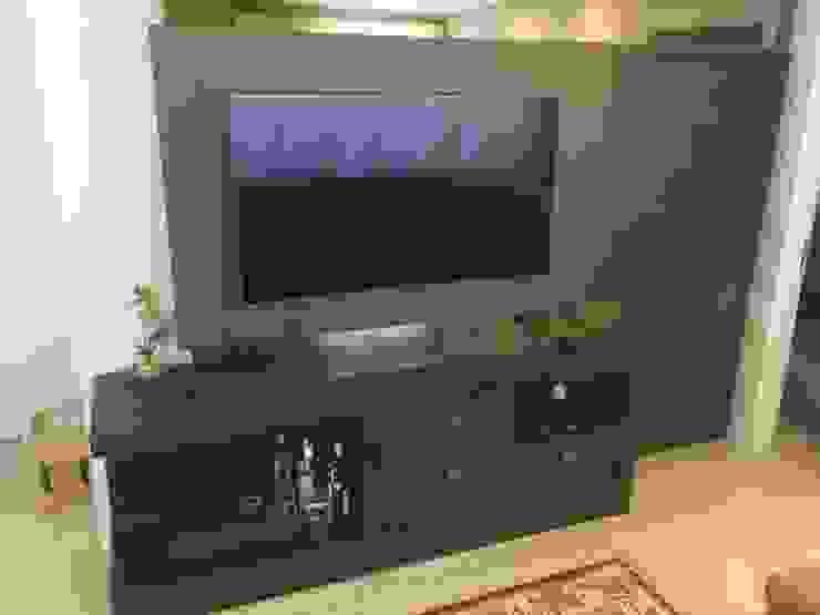 ADL Projetos Sob Medida Salas/RecibidoresAccesorios y decoración Tablero DM Acabado en madera
