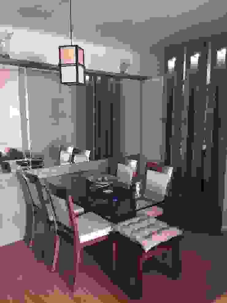 ADL Projetos Sob Medida Dining roomTables Wood Wood effect