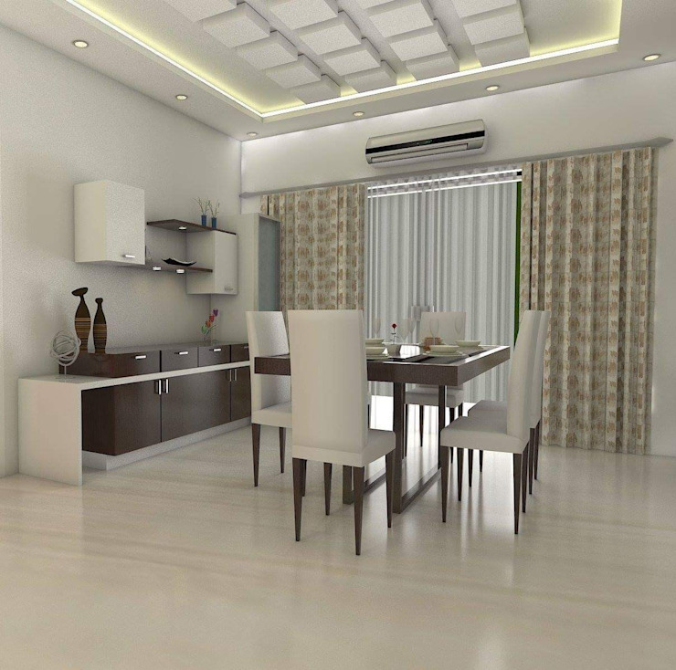 Modern dining room by homify Modern Plywood