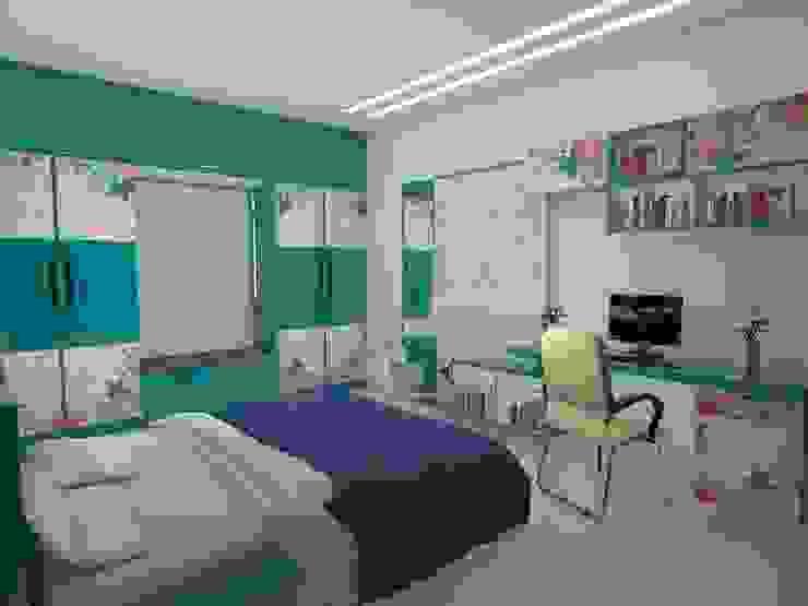 Dormitorios de estilo moderno de homify Moderno Contrachapado