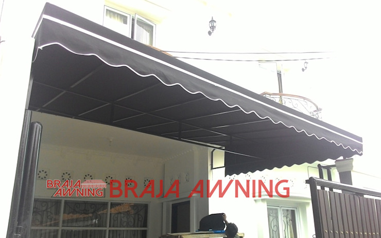 classic  by Braja Awning & Canopy, Classic Textile Amber/Gold