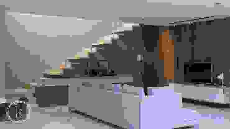 Ruang Keluarga Ruang Keluarga Minimalis Oleh Kalytera Studio Minimalis
