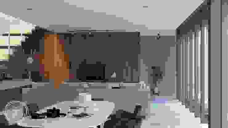 Rumah Tinggal Kontemporer Ruang Makan Minimalis Oleh Kalytera Studio Minimalis