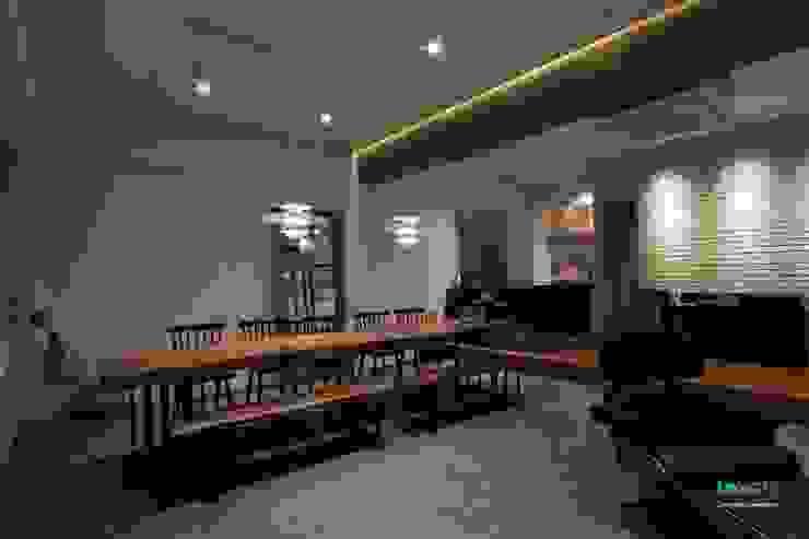 Ruang Makan oleh 디자인투플라이, Skandinavia