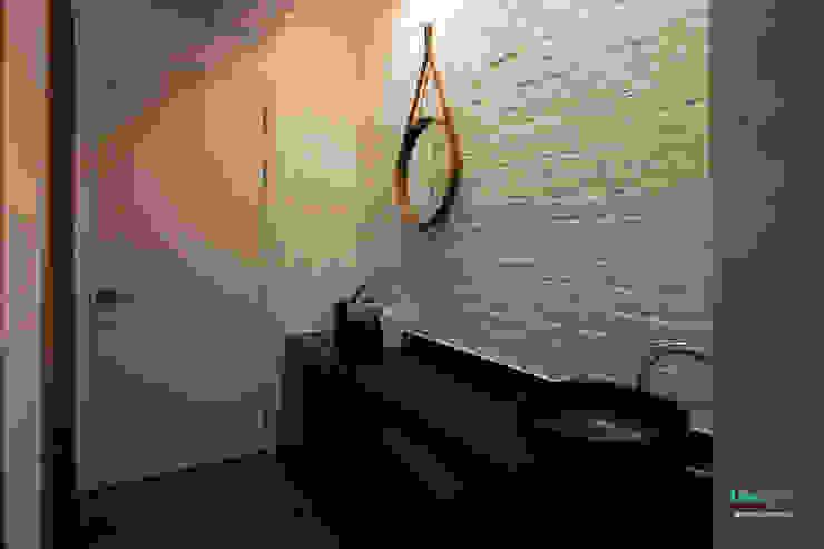 파우더룸 - 전주인테리어 상가주택 인테리어 30평 인테리어 - 위크앤드 - 스칸디나비아 욕실 by 디자인투플라이 북유럽