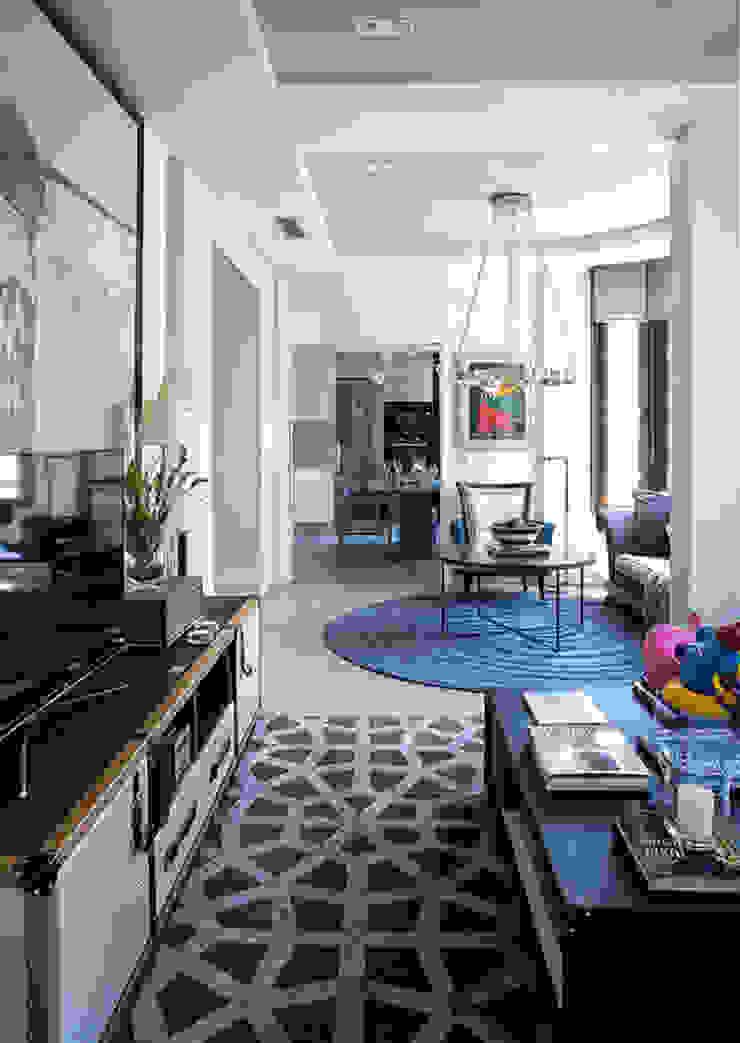 Contemporary Living room: modern  by S. T. Unicom Pvt. Ltd. ,Modern