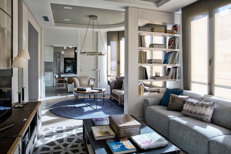 Contemporary living room S. T. Unicom Pvt. Ltd. Living roomAccessories & decoration Multicolored