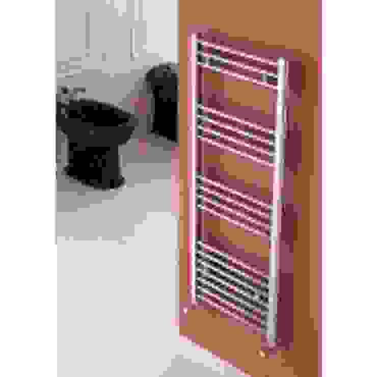 Carisa Nile Vertical Designer Radiators Direct Ванная в стиле лофт