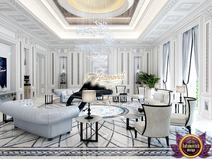 ​The Best interior design Dubai from Katrina Antonovich by Luxury Antonovich Design Classic