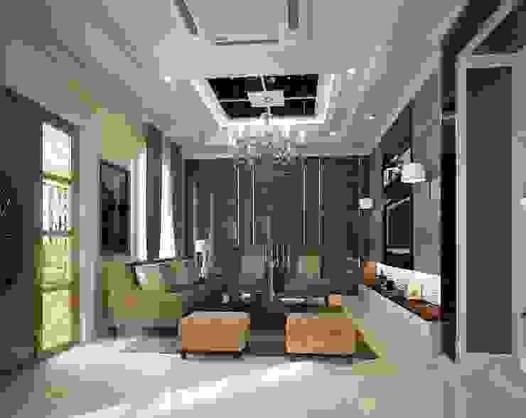 หมู่บ้าน Q house avenue พระราม5 โดย IDG interior decoration studio Co.,Ltd.