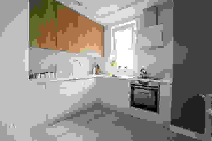 Cocinas de estilo escandinavo de AAW studio Escandinavo