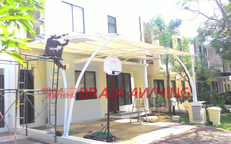 modern  by Braja Awning & Canopy, Modern Synthetic Brown