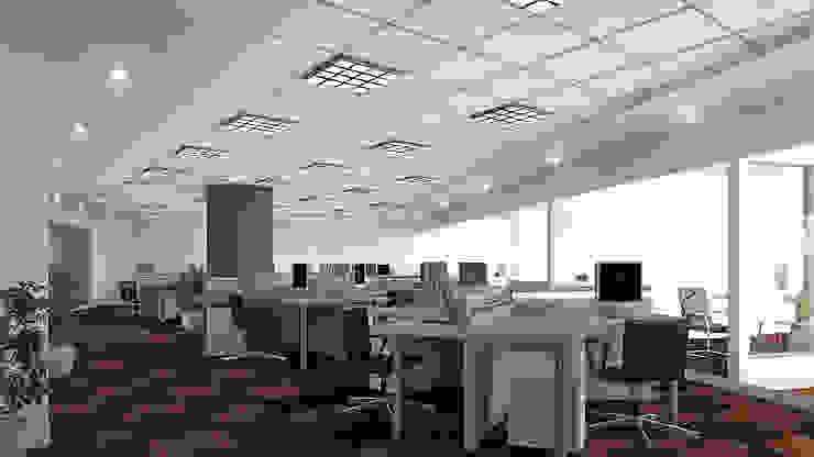 Oficinas PCR by Soluciones Técnicas y de Arquitectura Modern