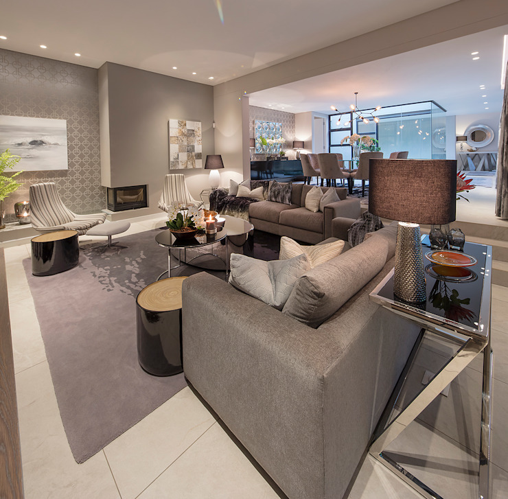 Modern living room by Spegash Interiors Modern