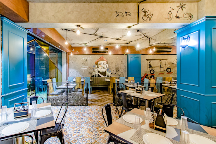 PIZZA SOCIAL: modern  by The Interior Workshop,Modern