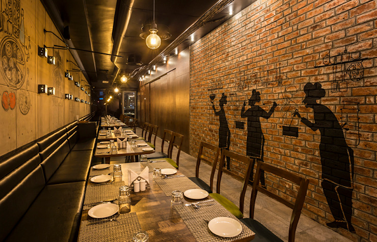 SIZZLING BITE: rustic  by The Interior Workshop,Rustic