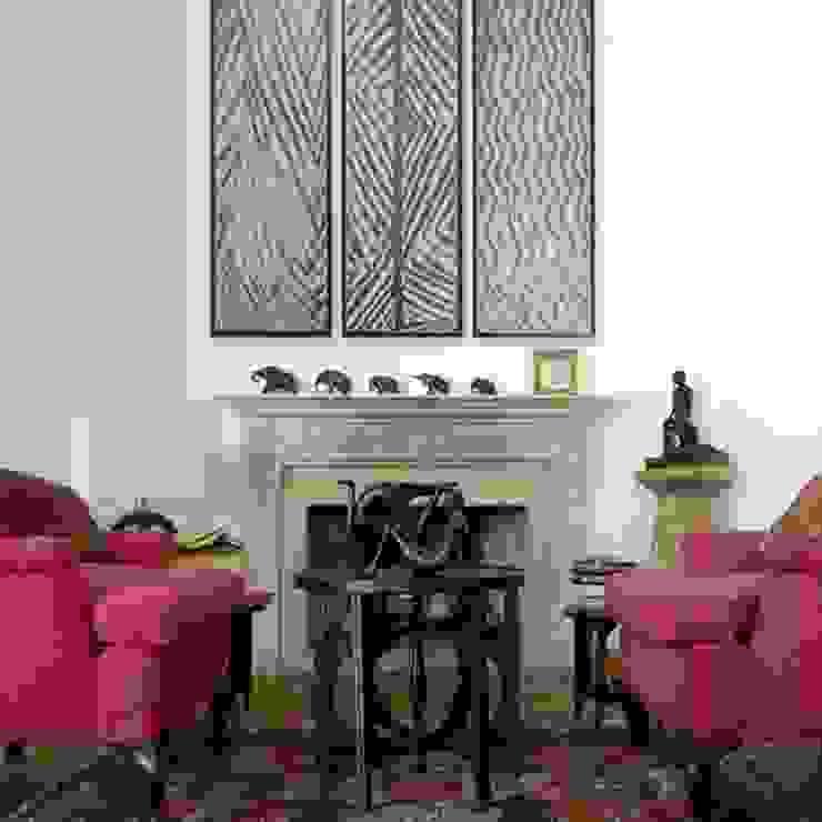 Studio Greci 现代客厅設計點子、靈感 & 圖片 Red