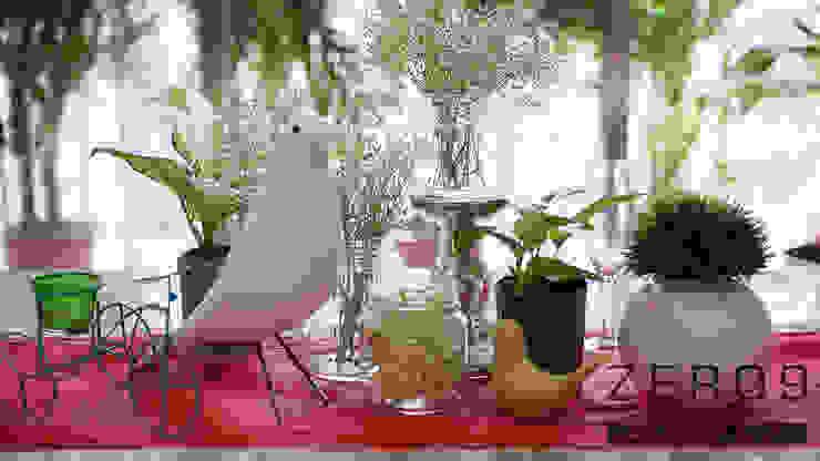 dining Modern dining room by ZERO9 Modern Glass