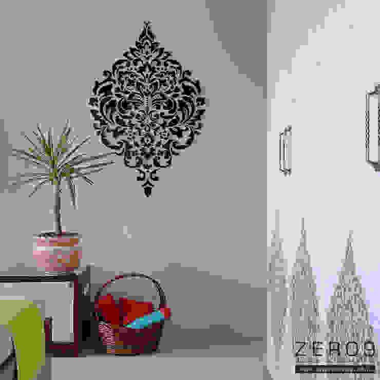 bedroom Modern style bedroom by ZERO9 Modern Glass