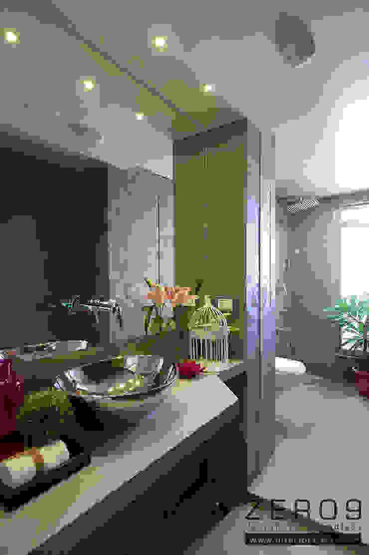 bathroom Modern bathroom by ZERO9 Modern Tiles