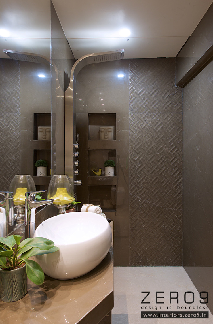 bathroom Modern bathroom by ZERO9 Modern Slate