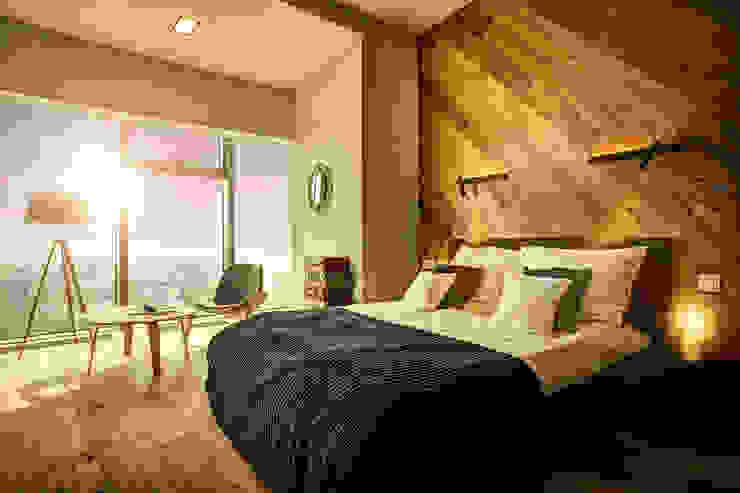 VIVINO Industrial style bedroom