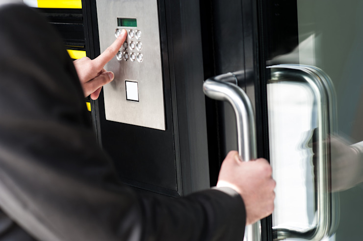 Commercial Keyless door locks by Locksmith Pretoria