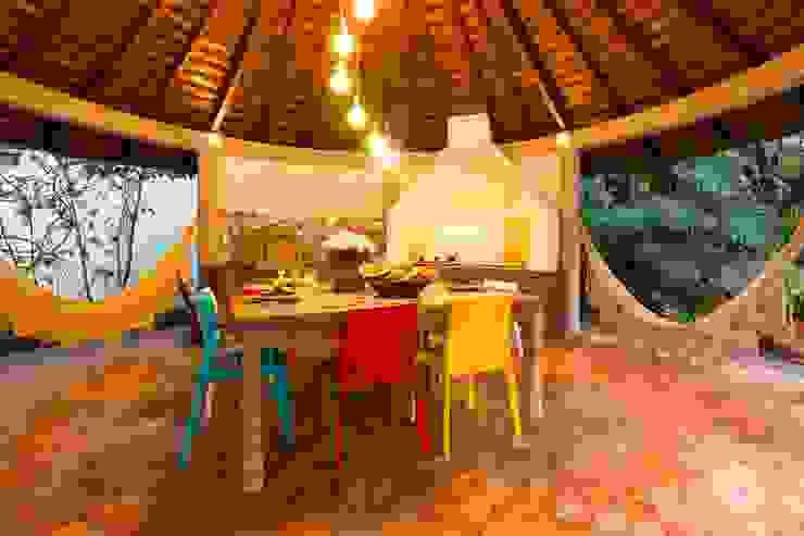 IZI HOME Interiores Balconies, verandas & terraces Lighting