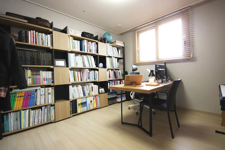 homelatte Minimalist study/office