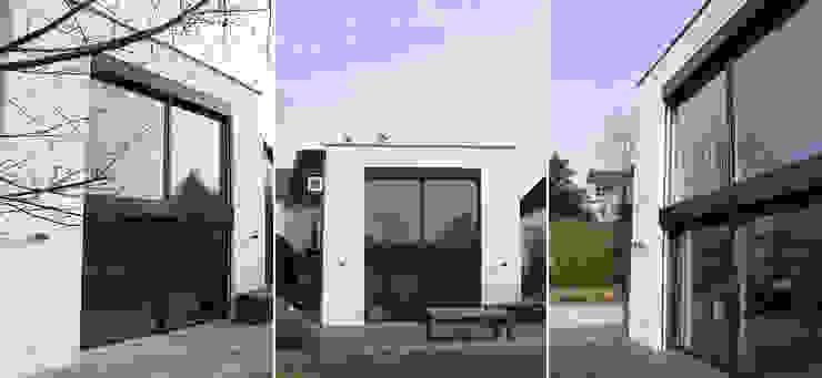 HAUS K | STEINBACH/TAUNUS | UMBAU UND SANIERUNG EINES EINFAMILIENHAUSES Celia Kunst_Architektur und Raumplanungen Moderne Häuser