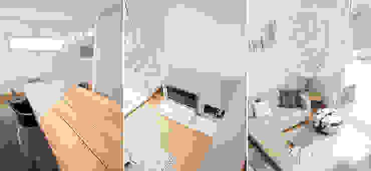 HAUS K | STEINBACH/TAUNUS | UMBAU UND SANIERUNG EINES EINFAMILIENHAUSES Celia Kunst_Architektur und Raumplanungen Moderne Wohnzimmer