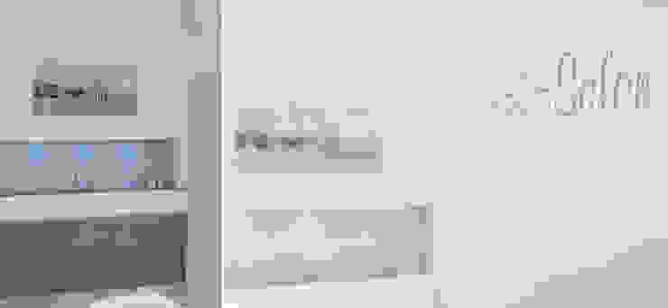 HAUS K | STEINBACH/TAUNUS | UMBAU UND SANIERUNG EINES EINFAMILIENHAUSES Celia Kunst_Architektur und Raumplanungen Moderne Badezimmer