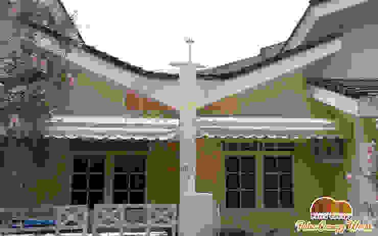 Canopy Kain Jakarta Warna Cream Oleh Putra Canopy Klasik Tekstil Amber/Gold