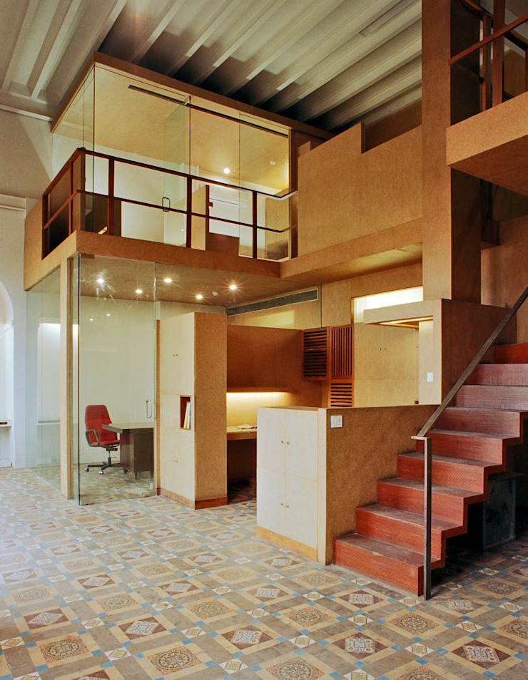 Office For Ensemble Modern study/office by DCOOP ARCHITECTS Modern